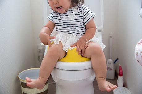 child toilet training